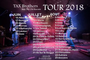 tax brothers and the old racoon tour 2018